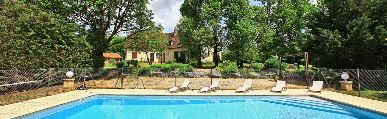 Hostellerie du Causse - piscine